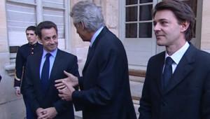 TF1/LCI Nicolas Sarkozy, Dominique de Villepin et François Baroin.