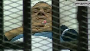 Hosni Moubarak, l'ancien président égyptien.
