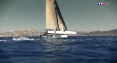 Le 20 heures du 12 septembre 2014 : Marseille : une comp�tion de bateaux volants - 1732.86