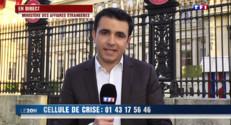 Le 20 heures du 25 avril 2015 : Le Quai d'Orsay ouvre une cellule de crise après le séisme - 434.27500000000015