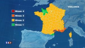 Orages et pluies : quatre départements en alerte orange