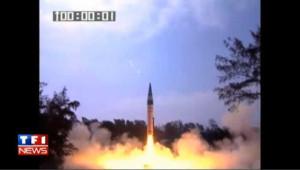 Tir de missile indien : les images