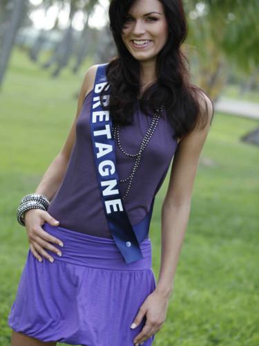 Miss Bretagne 2009 - Craignou Mélanie : candidate Miss France 2010