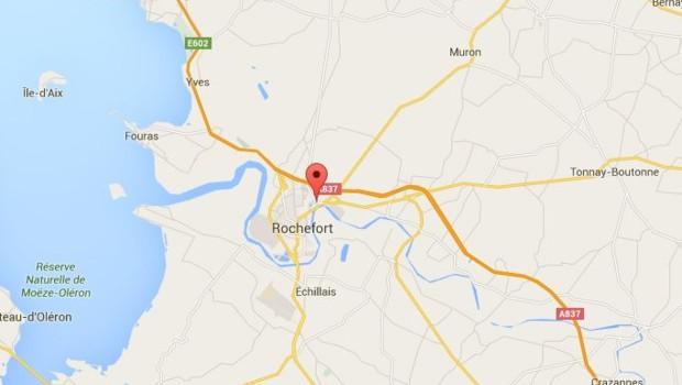 Carte Rochefort accident
