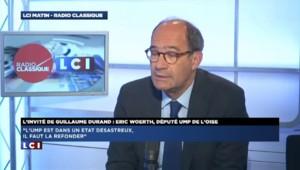 """Eric Woerth : Nicolas Sarkozy """"a visiblement envie de revenir"""""""