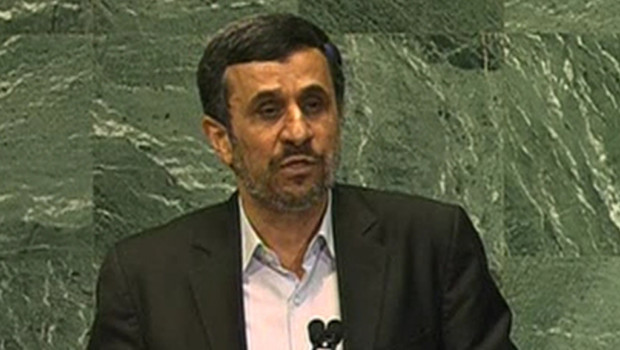 Mahmoud Ahmadinejad  l&#039;Assemble gnrale de l&#039;Onu, le 26/9/12