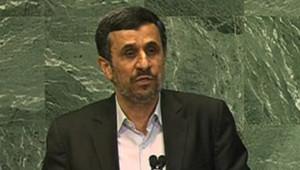 Mahmoud Ahmadinejad à l'Assemblée générale de l'Onu, le 26/9/12
