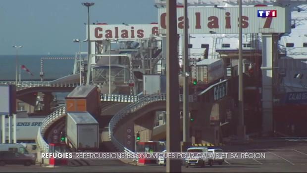 Migrants à Calais : le port, poumon économique, lourdement impacté