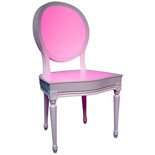 meuble lumineux chaise royale