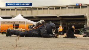 Simulation d'attentats terroristes à Lyon.
