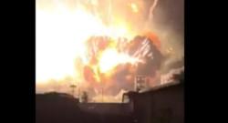 Une explosion a dévasté lundi 1er septembre 2015 une usine chimique de l'est de la Chine