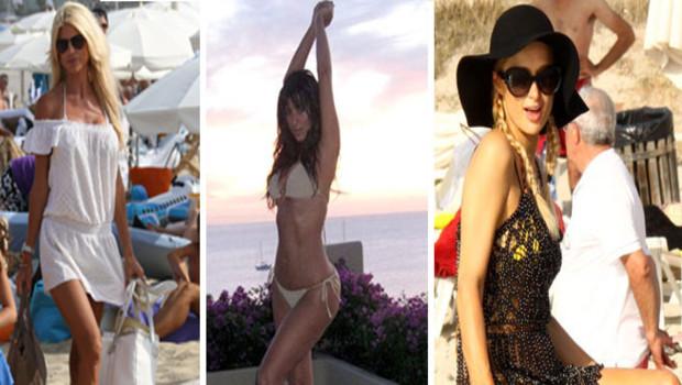 Victoria Silvstedt Kim Kardashian Paris Hilton