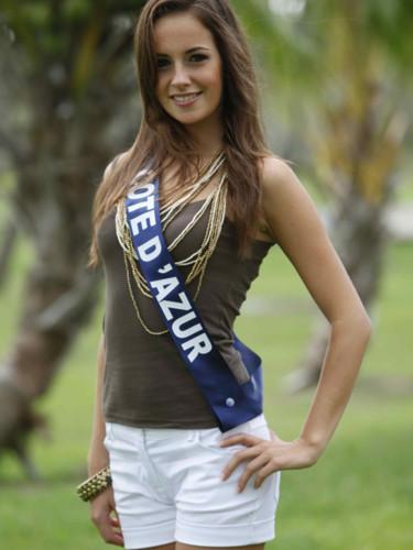Miss Côte d'Azur 2009 -  Anaïs Governatori  : candidate Miss France 2010