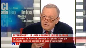 Affaire Bettencourt : Metzner accuse Courroye