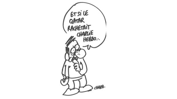 Dessin de Charb du 25 septembre 2012