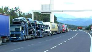 grève routiers