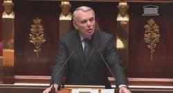Jean-Marc Ayrault à l'Assemblée nationale le 24 février 2014.