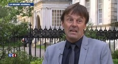 Nicolas Hulot mobilise pour lavenir de la plante  Londres