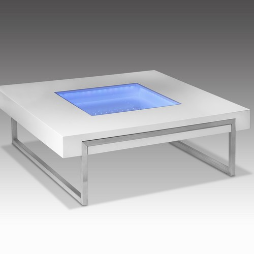 meuble lumineux table basse