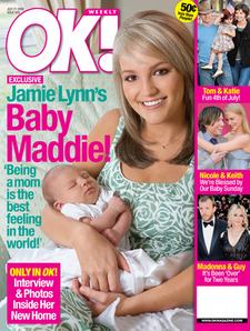 people : Jamie Lynn Spears en couverture de OK