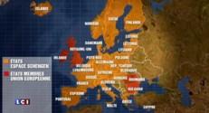 Allemagne : face à l'afflux de migrants, Merkel craint pour l'avenir de Schengen