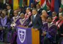Barack Obama a rendu hommage aux victimes de la tuerie de Charleston.