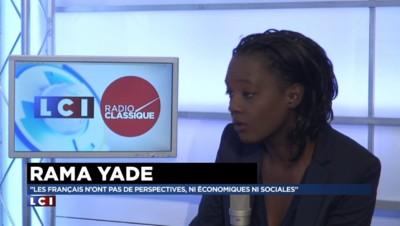 """Chômage : """"La politique économique du gouvernement aggrave la situation"""" pour Rama Yade"""