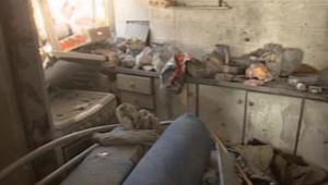 Israël : un appartement dans le Sud d'Israël détruit par un tir de roquette du Hamas, 15/11/12