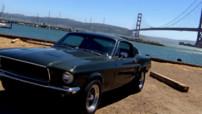 La Ford Mustang 1968 de Bullitt dans les rues de San Francisco aux Etats-Unis