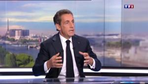 """Sarkozy sur les migrants : """"J'ai eu honte quand j'ai entendu Marine Le Pen"""""""