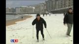 Froid glacial et neige partout en Europe aussi
