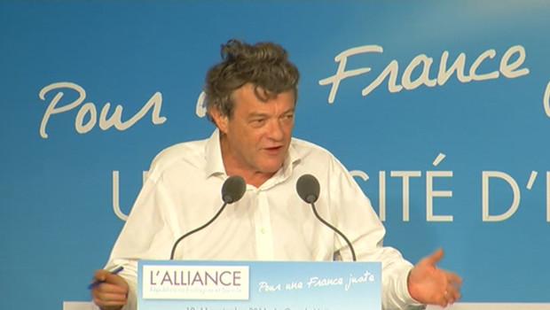 Jean-Louis Borloo, le 10 septembre 2011 à la Grande Motte.