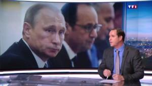 """Poutine, un leader """"décisif"""" pour lutter contre les groupes terroristes"""