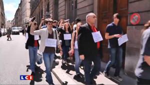 Bac : manifestation devant le ministère de l'Education