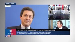 """Bygmalion : pour l'UMP Georges Fenech, """"il s'agit d'un début d'aveu de Bygmalion"""