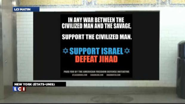 Campagne de pub anti-islam dans le métro new yorkais