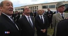 Hollande et Le Drian en visite chez Dassault : les premières images