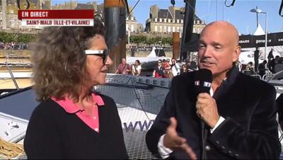 """Le 13 heures du 1 novembre 2014 : Florence Arthaud : les bateaux g�ts, """"�lution naturelle du monde de la voile"""" - 1131.9945034179686"""
