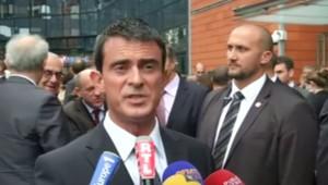 Manuel Valls, le 10/10/14