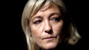 Marine Le Pen le 13 janvier 2012 à Paris