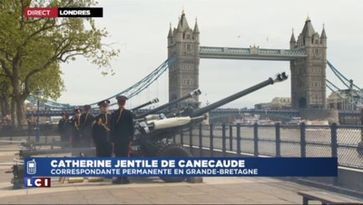 Royal baby : 103 coups de canon tirés à Londres, le prénom se fait attendre