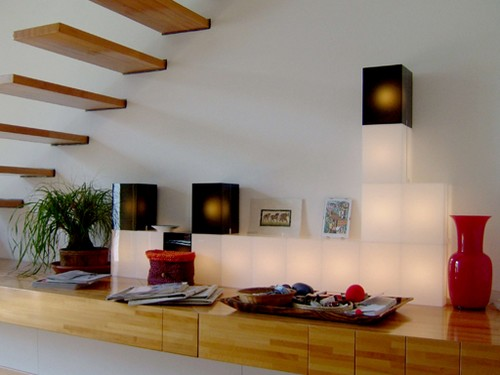 meuble lumineux boîtes 1