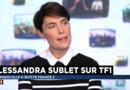 Alessandra Sublet dans La Médiasphère de LCI.