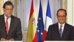 François Hollande interrogé sur le retour de Nicolas Sarkozy, 1er décembre 2014