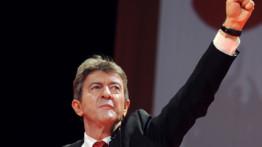 Jean-Luc Mélenchon le 14 janvier 2012 à Saint-Herblain