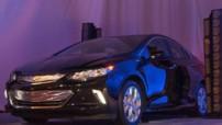 La 2e génération de la Chevrolet Volt, une berline électrique à autonomie prolongée.