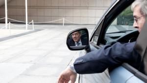Le président du directoire de PSA Peugeot Citroën, Philippe Varin, en septembre 2011.
