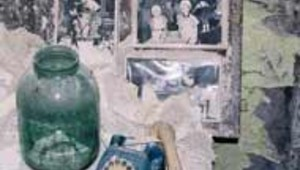 Ruines appartement Tchernobyl