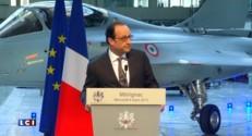 """Vente du Rafale à l'Egypte : """"Un signal décisif pour remporter d'autres commandes"""" déclare Hollande"""