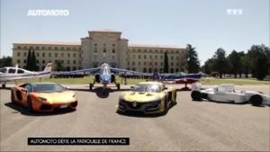 Automoto avion Patrouille Mirage Lamborghini Renault RS 01 F1 2015